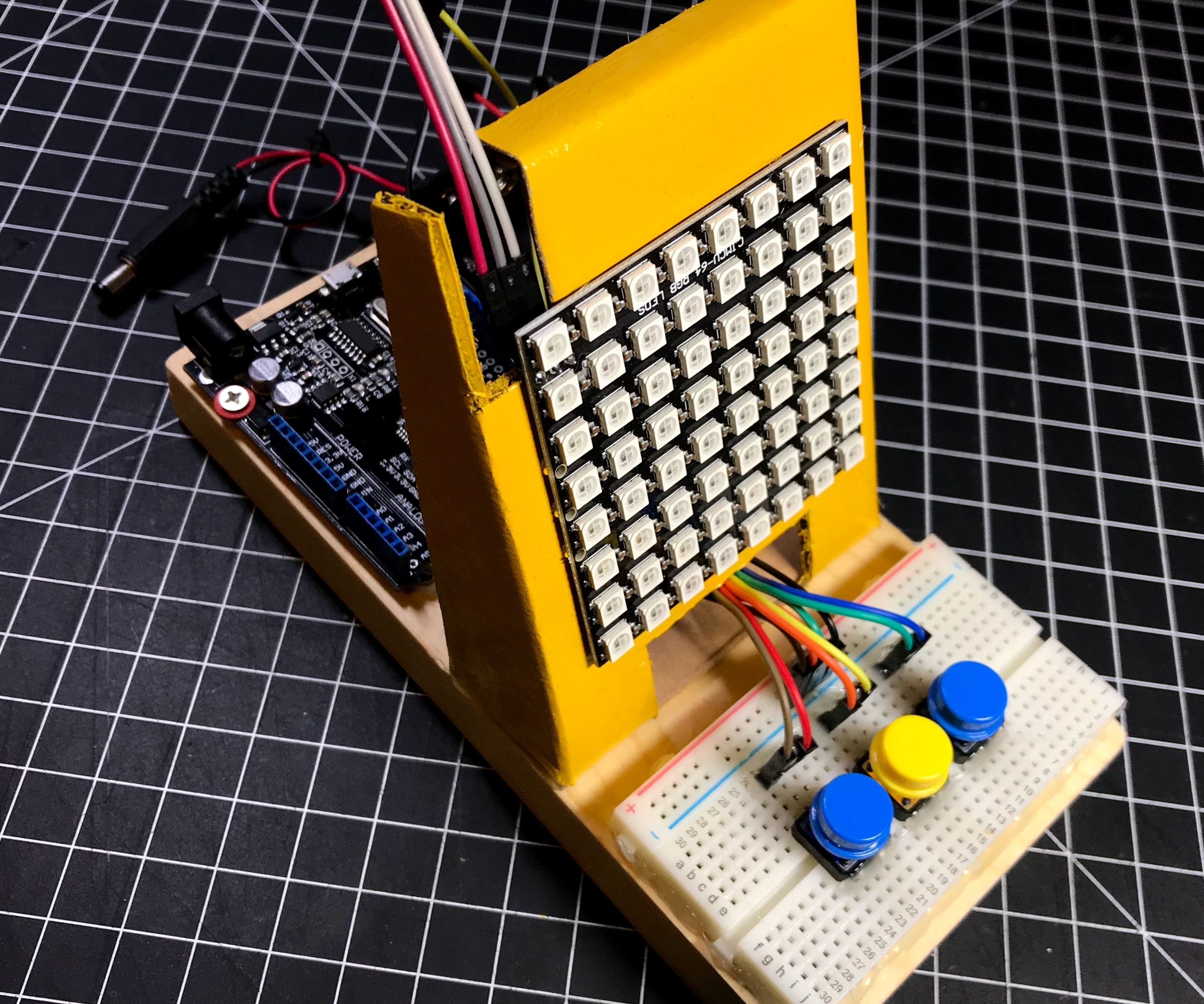 Connect 4 Game Using Arduino and Neopixel