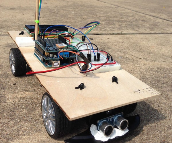 Arduino Powered Autonomous Vehicle