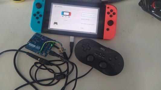 Como Usar Un WII Pro Controller Con Una Switch -hackeada.