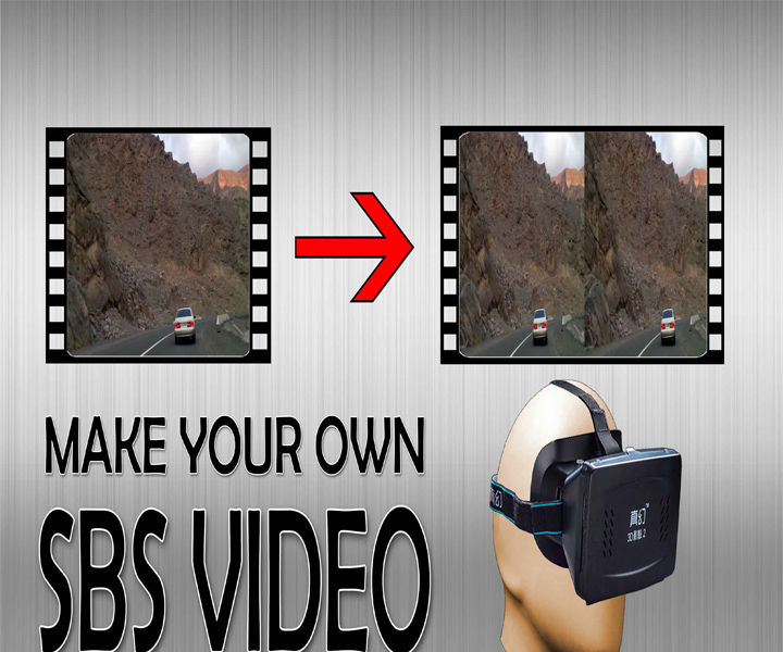 Make your own SBS 3D videos (Video)