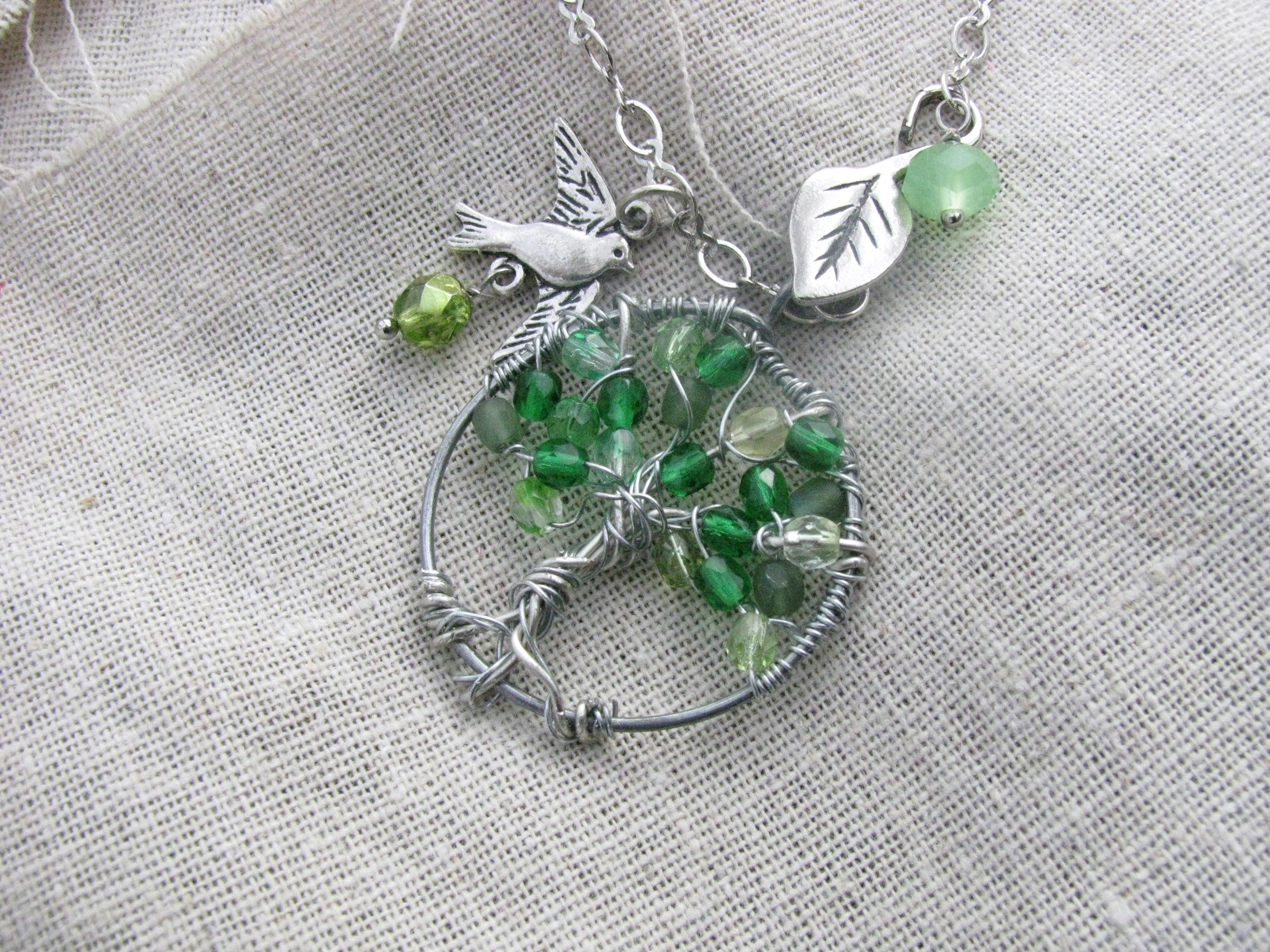 How to make a Tree Pendant