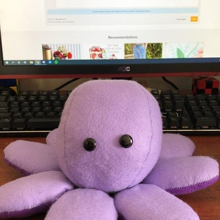 DIY Octopus Plushie