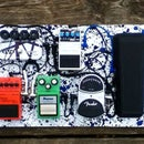 Electric Guitar Pedal Board