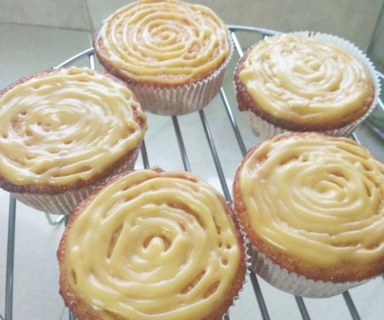 Custart Cupcake