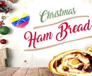 圣诞火腿面包