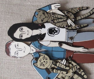 Mass Produce an Army of Articulated Paper Dolls