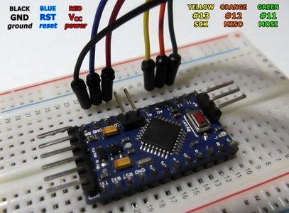 Connecting to Arduino Pro Mini
