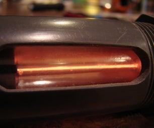 Helium Neon Laser From Junk Parts