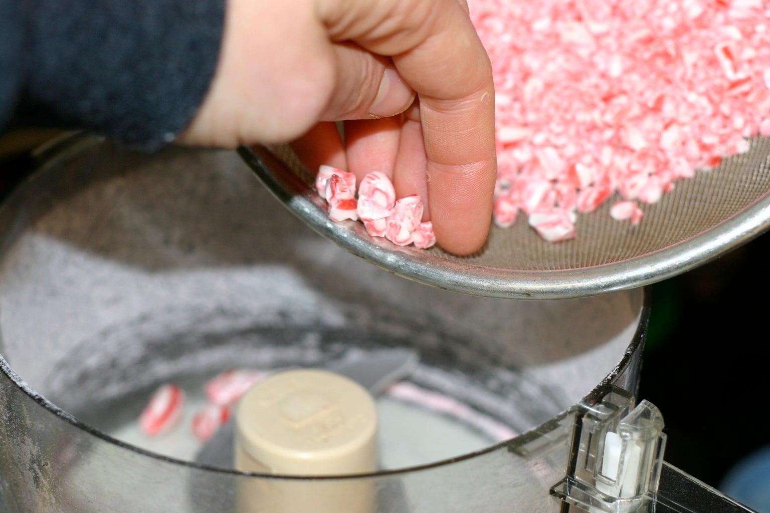 Crunch Peppermint Candies