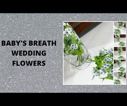 BABY'S BREATH WEDDING FLOWERS