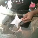 How to make a double-sided ninja star