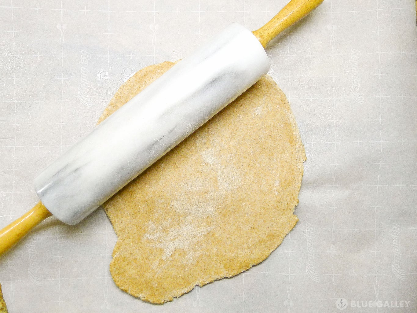 Roll Out Pizza Dough: