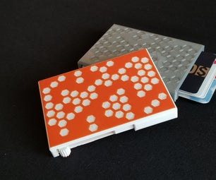 Fully 3D Printed Card Wallet With Card Pusher