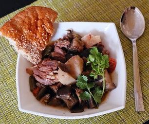 Chanakhi - Tasty Traditional Georgian Lamb Stew