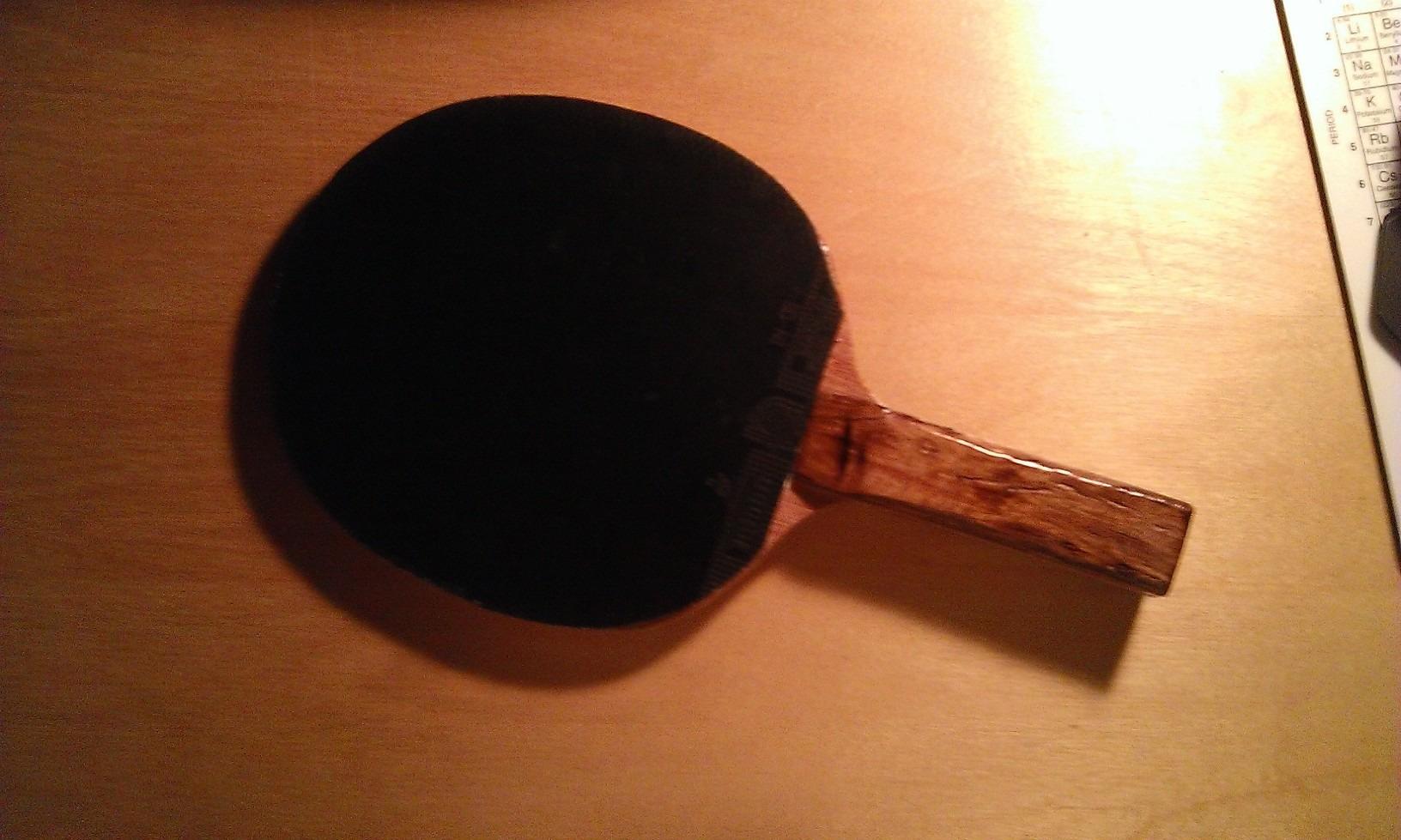 Make A Table Tennis Bat!