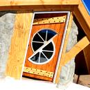 Homemade Wood Door for Upper Patio Deck