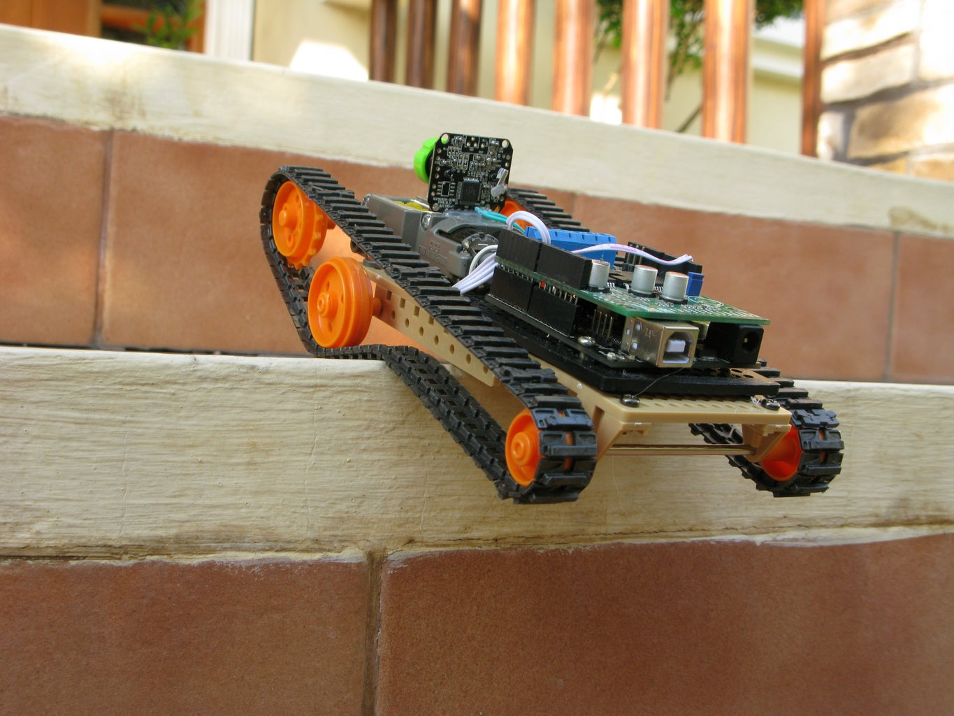 Photo Gallery - FPV Rover in Action (update: 5/10/14)