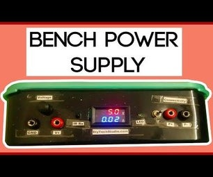 Multi-function Transformer Based Variable Bench Power Supply Using LM317