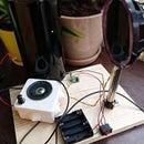 DIY Photophone (transmit Sound Over a Beam of Light)