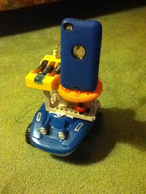 Ipod Touch Spy Car