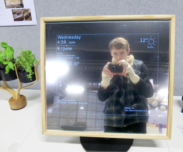 $100 Smart Mirror Pi