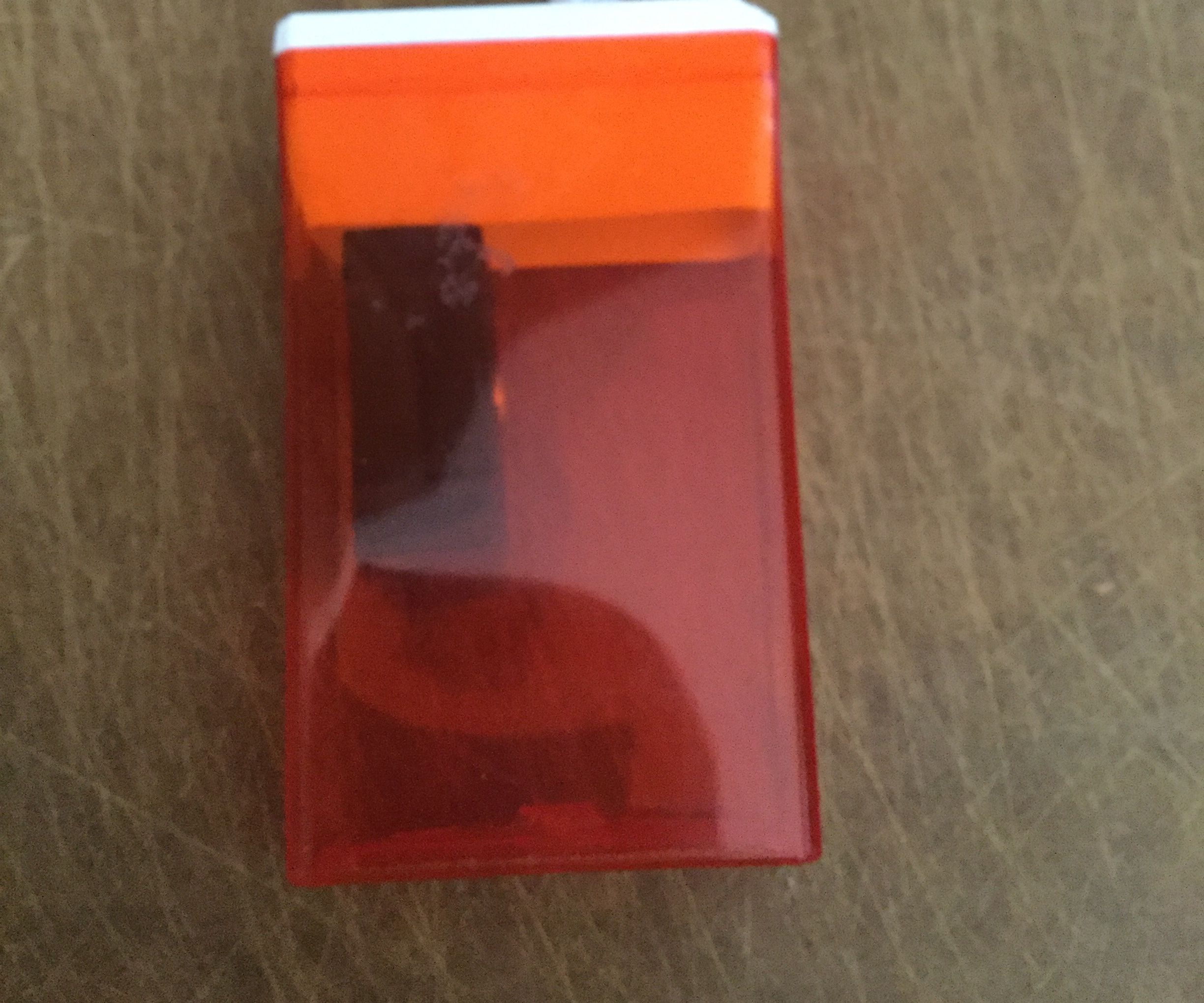 Tic-tac Container Into Sharpener