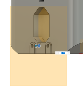 Design Process - Moving Fixture - Endstop Nut Inserts