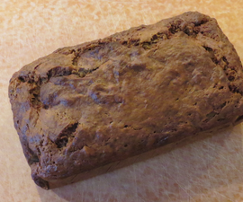 Very Moist & Very Banana-y-y Banana Bread and No Butter!