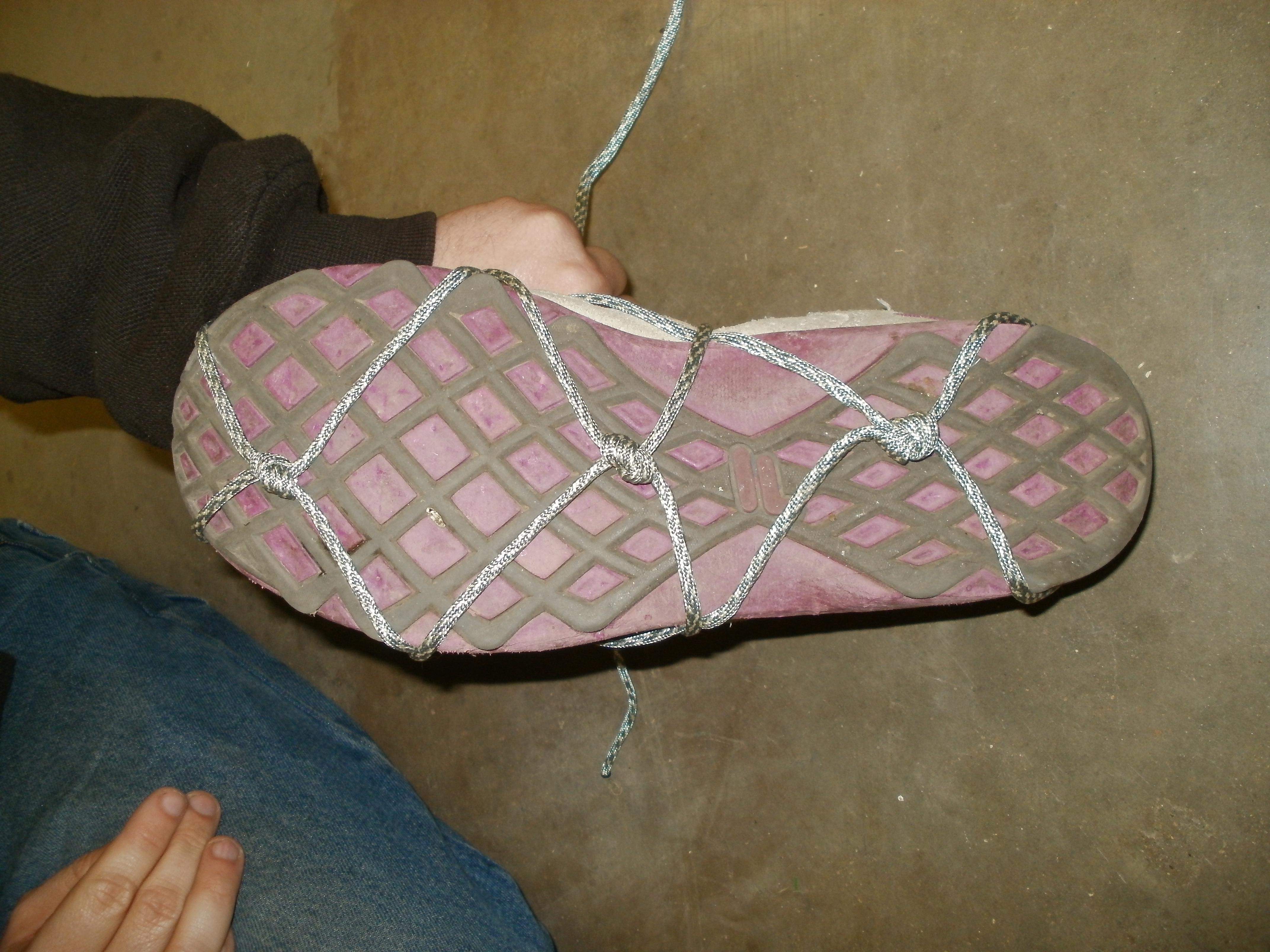 Paracord Shoe Grips