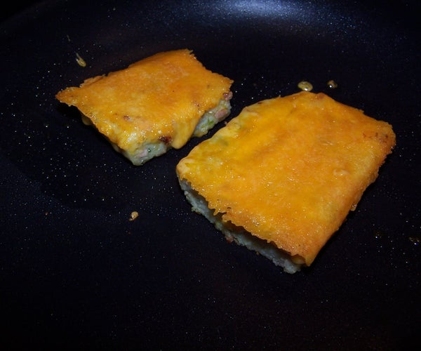 the Versatile Side Dish, Grit Cakes