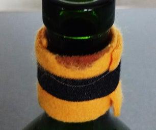 Cat Tongue Wine Bottle Drip Stop Collar