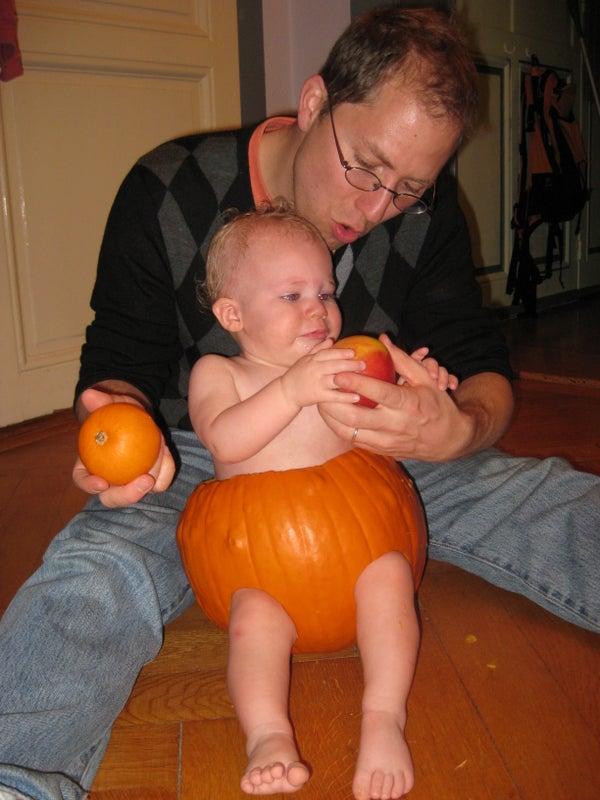 3-fer: Diaper, Jack-O Lantern, and Pumpkin Seeds!