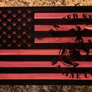 CNC American Flag With User Defined Parameters