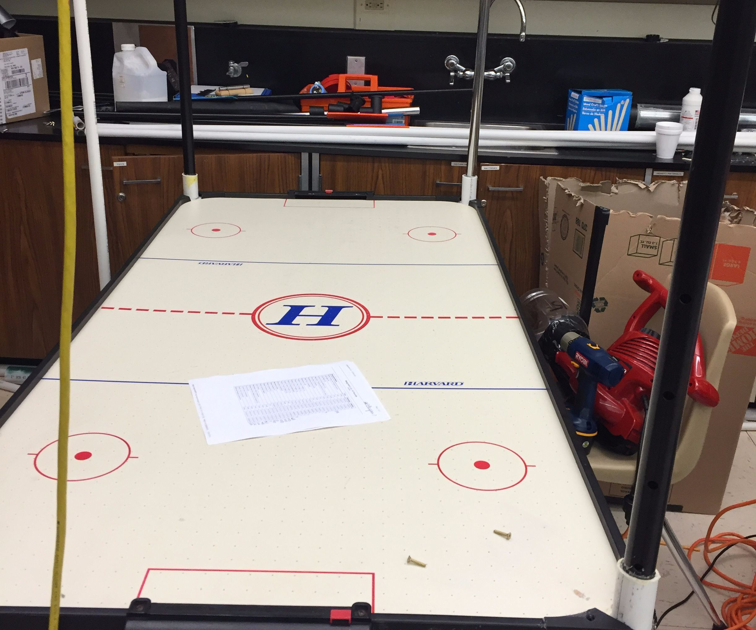 AIR HOCKEY AND CHILL