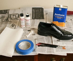 Painting Leather Shoes (or Other Leather Stuff)