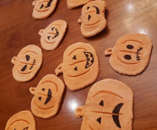 Scented Pumpkin Ornaments