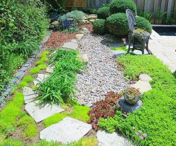 Landscape a Dry Creek Bed in Your Backyard!