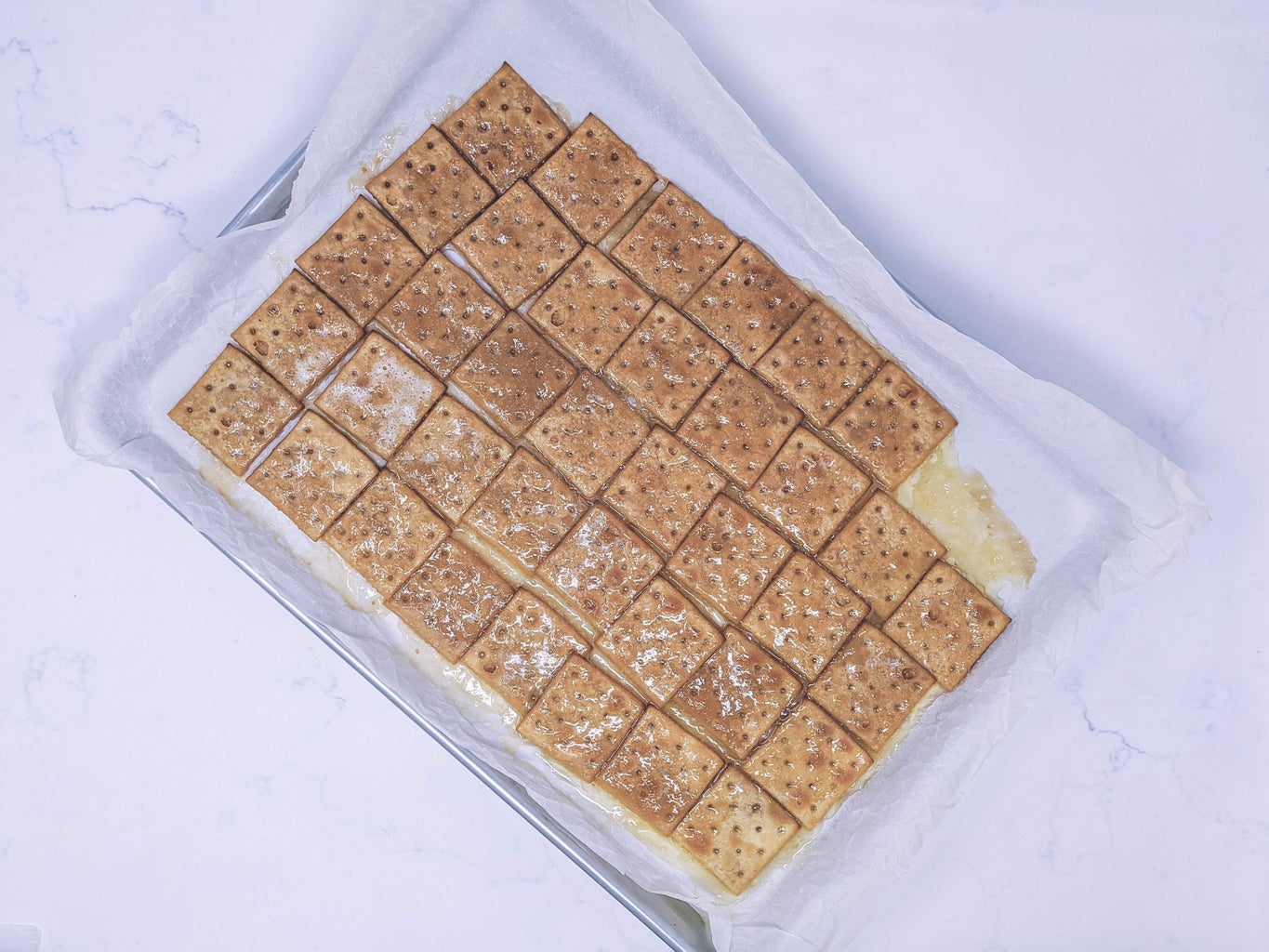 Make the Toffee Crumble