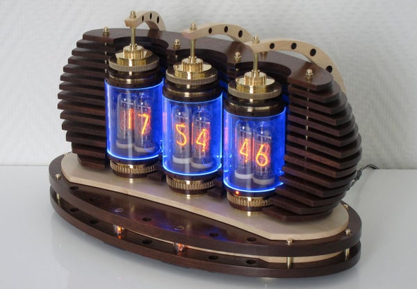 Lamina Nixie Clock