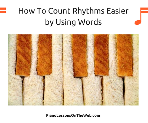 How to Count Rhythms Much Easier by Using Words