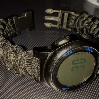 How to Make a Paracord Watch With Buckle