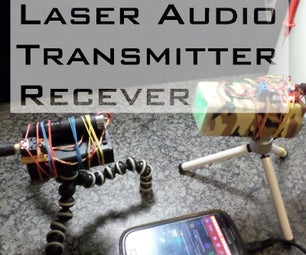 Laser Audio Transmitter and Receiver
