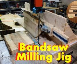 Bandsaw Milling Log Jig