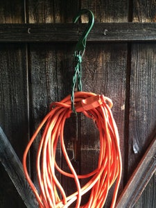 Cord/Hose Hangers From Plant Hangers