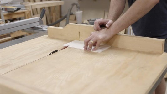 CUTTING THE BOTTOM TO FIT: