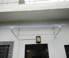 PVC Canopy on Door/window