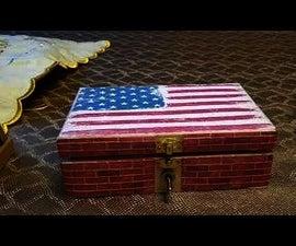 Make Stem Great Again. Trump Useless Box With Audio