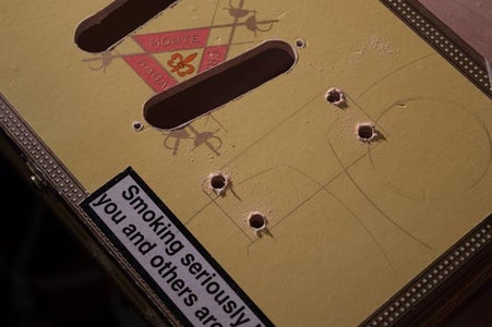 Making Holes in the Cigar Box