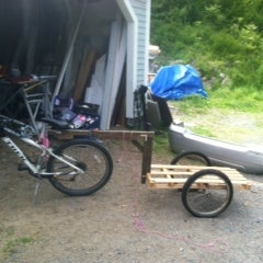 Make a Bike Trailer for Less Than $10 !