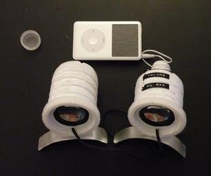 Water Bottle Mobile Speakers